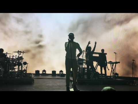 """""""Jesus is all I got"""" Chance the rapper live in the Woodlands, May 7 2017 performing how great medley"""