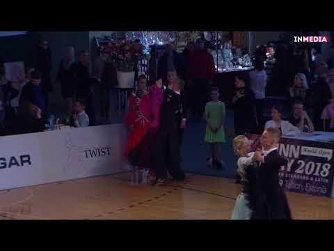 Oliver Pajus - Anette Saiko | R2 Tango | Eesti Meistrivõistlused 2018