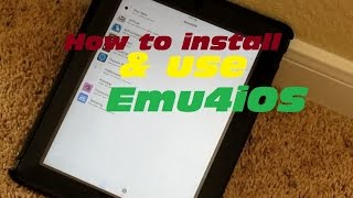 How to Install and use Emu4iOS