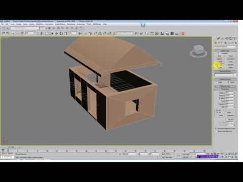 House modelling in 3ds max tutorial