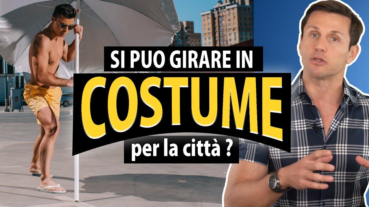 Si può girare in città in costume da bagno? | avv. Angelo Greco