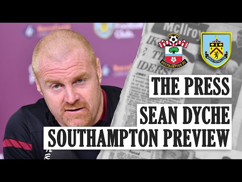 GIBSON, INJURIES, SAINTS AND BROWNHILL | THE PRESS | Southampton v Burnley 2019/20