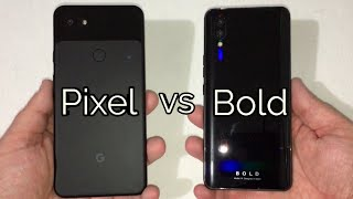 Pixel 3a XL vs Bold N1 Speed Test - Which Phone Will Win?
