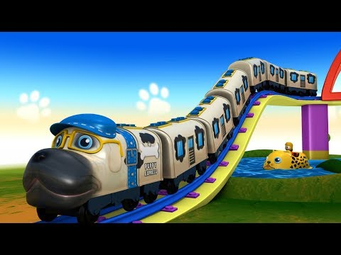 Cartoon Dog Train for Children | Poppy Train - TOY FACTORY