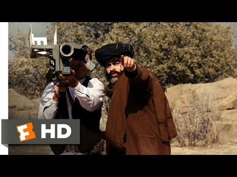 Charlie Wilson's War 89 Movie   AntiHelicopter Light Missile 2007 HD