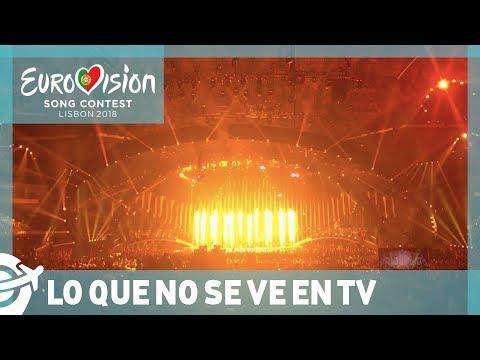LO QUE NO SE VE EN TV DURANTE EUROVISIÓN - Eurovisión 2018 | Vdeviajar.com