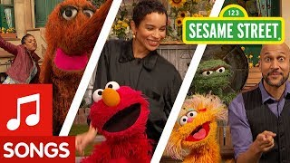 Sesame Street: Elmo's Happy Dance with Celebs | #ELMOtivation