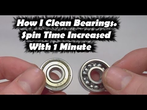 Thumbnail: Fidget Toy Spinner Increase Spin Time | How to Clean Bearings for Fidget Toy Hand Spinners