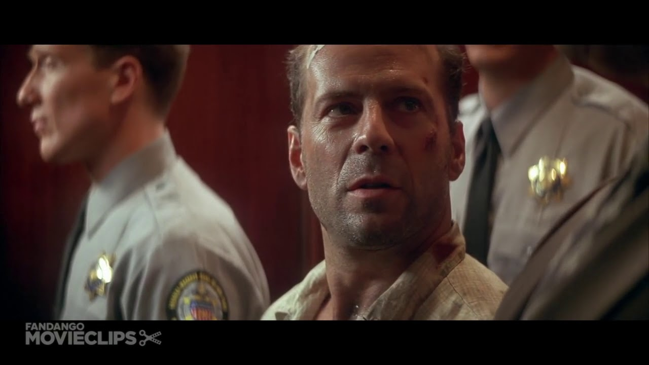 Die Hard With A Vengeance 1995 Suspicious Cops Scene 3 5 Movieclips Youtube