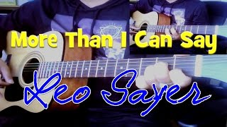 ♪♫ Leo Sayer - More Than I Can Say - Acoustic Cover by Ash Almond