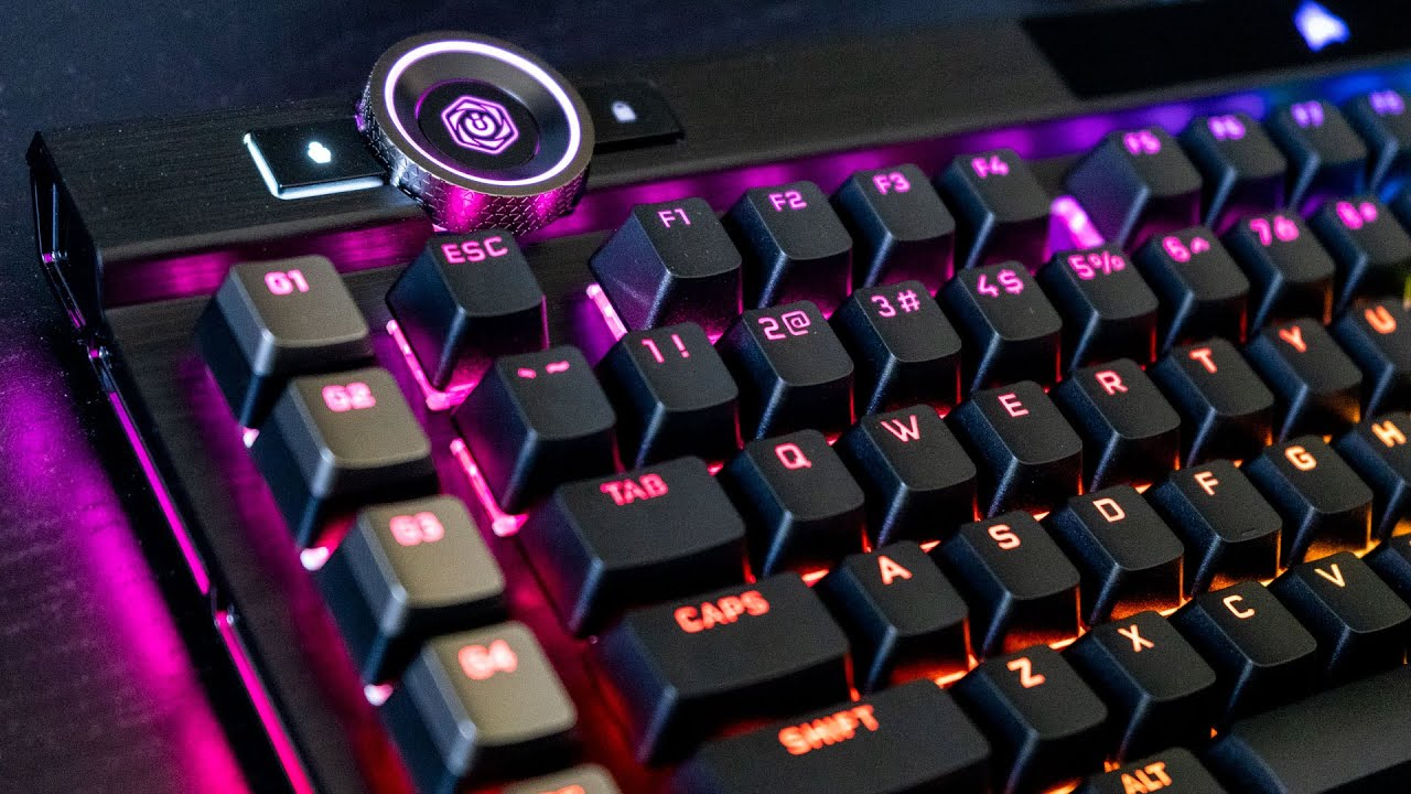 Why you might actually buy a 0+ keyboard: Corsair K100 RGB review