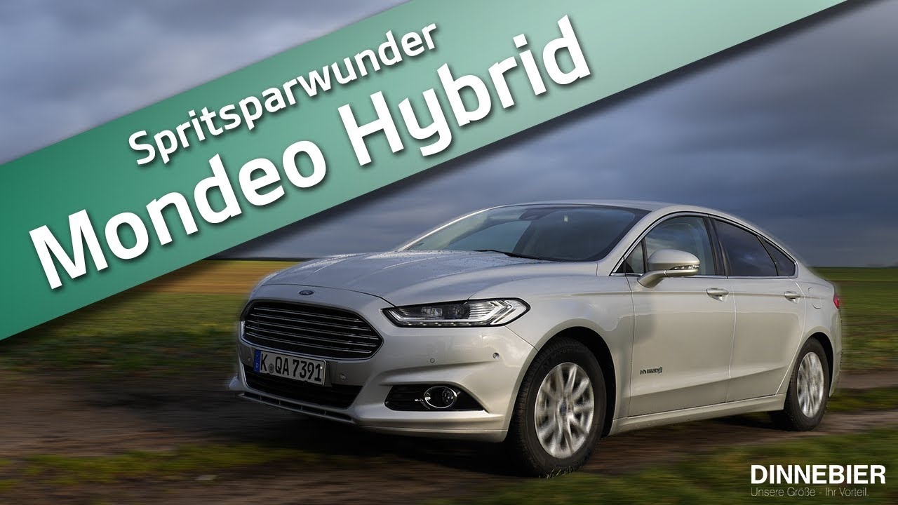 ford mondeo hybrid sparsam und komfortabel zu gleich youtube. Black Bedroom Furniture Sets. Home Design Ideas