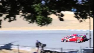 Ferrari Challenge (488) at Laguna Seca (IMSA)