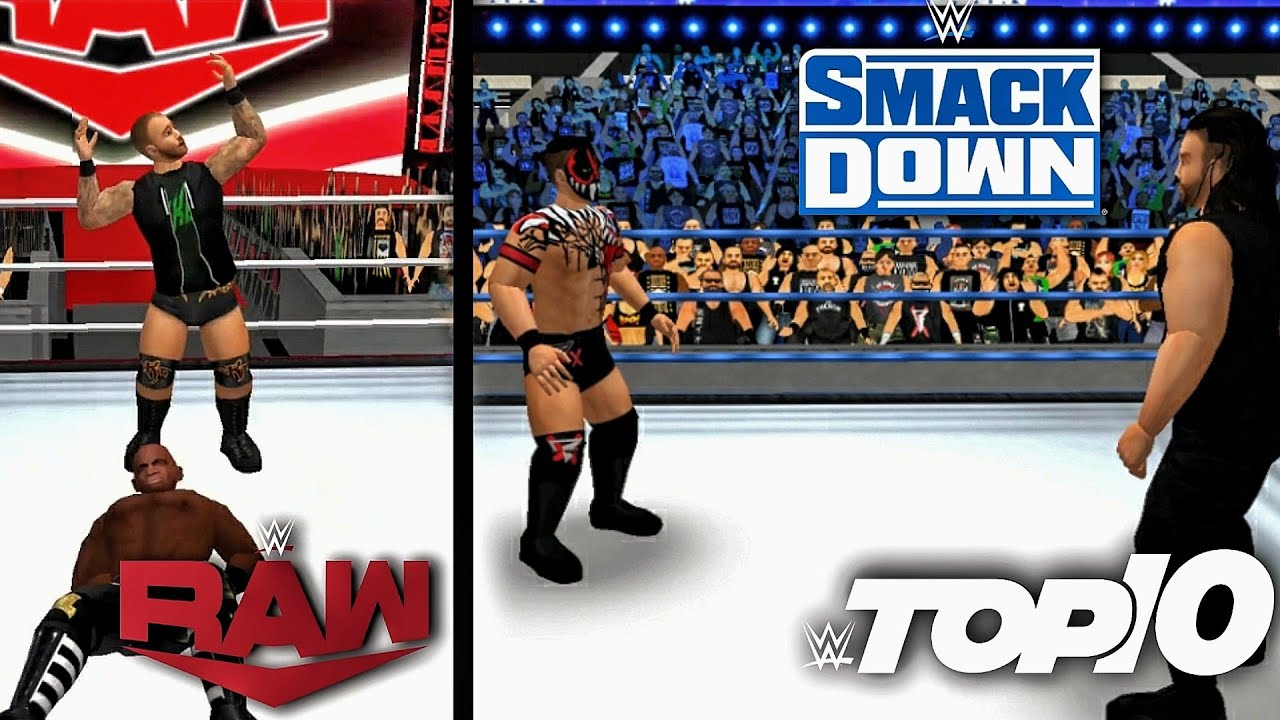 Download WR3D 2K21: Raw+SmackDown Top 10 Moments!