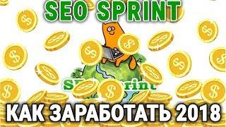 SEOSprint 2018 как заработать от 100 рублей в час