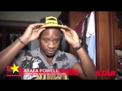 STAR CLOSET: Asafa Powell
