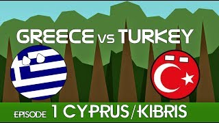 Greece vs Turkey (ft. Cyprus)