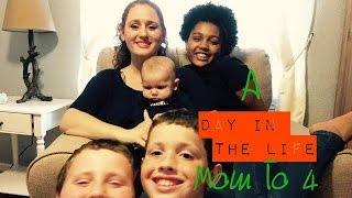 A DAY IN THE LIFE OF AUTISM | STAY AT HOME MOM TO 4 || #dayinthelife