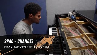 changes 2pac piano rap cover