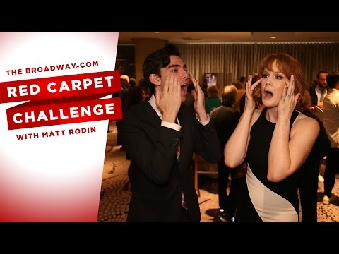RED CARPET CHALLENGE: Drama Desk Nominee Reception with Stephanie J. Block, Gavin Creel and more!
