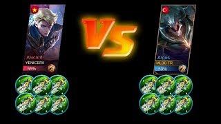 Video Argus full damage vs Alucard full damage max attack | Mobile Legends download MP3, 3GP, MP4, WEBM, AVI, FLV November 2017