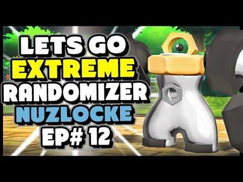 Can We Catch A LEGENDARY? - Pokemon Lets Go Pikachu And Eevee Extreme Randomizer Nuzlocke Episode 12