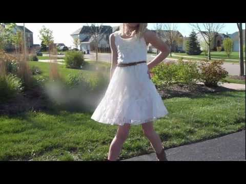 297a2f00fe Lauren s Easter Dress! - YouTube