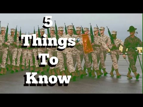 5 things to know before Marine boot camp