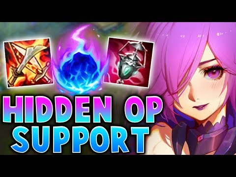 THIS HIDDEN OP SUPPORT CHAMP CAN ACTUALLY HARD CARRY! | League of Legends thumbnail