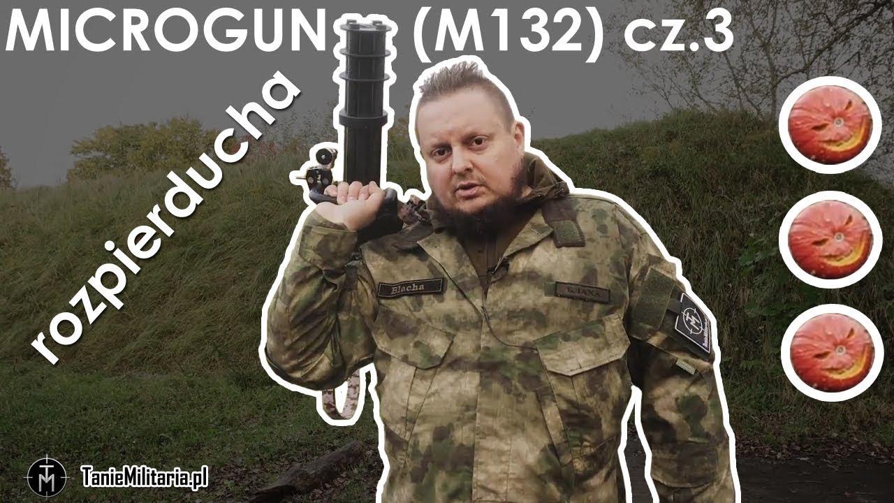 Download MICROGUN (M132) - CLASSIC ARMY CZ.3 (ROZPIERDUCHA 2) - TANIEMILITARIA.PL