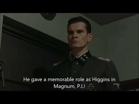 Hitler is informed John Hillerman has died