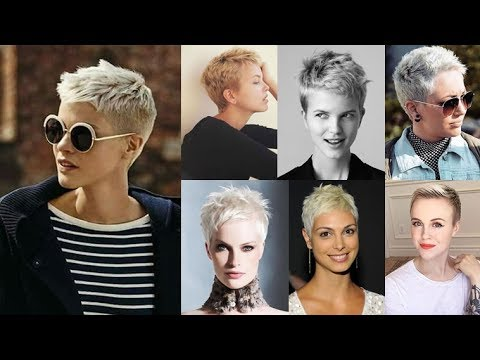 28 Best Very Short Pixie Cut Hairstyles 2018 Super