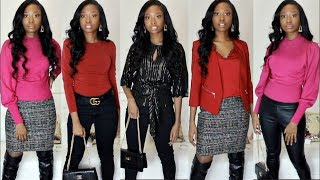Winter Outfit Ideas Dressy & Casual Winter Clothing Try On Haul 2019