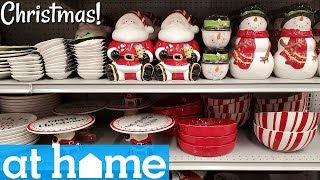 SHOP WITH ME * AT HOME STORE * CHRISTMAS KITCHEN DECOR 2019