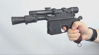 airsoft dl 44 heavy blaster custom based on c96 hfc nbb