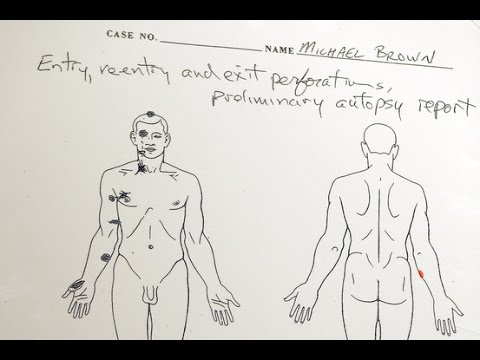 Independent Autopsy Shows No Struggle from Michael Brown