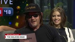 The Walking Dead Cast Do Their Best Negan Impressions - Comic Con 2018