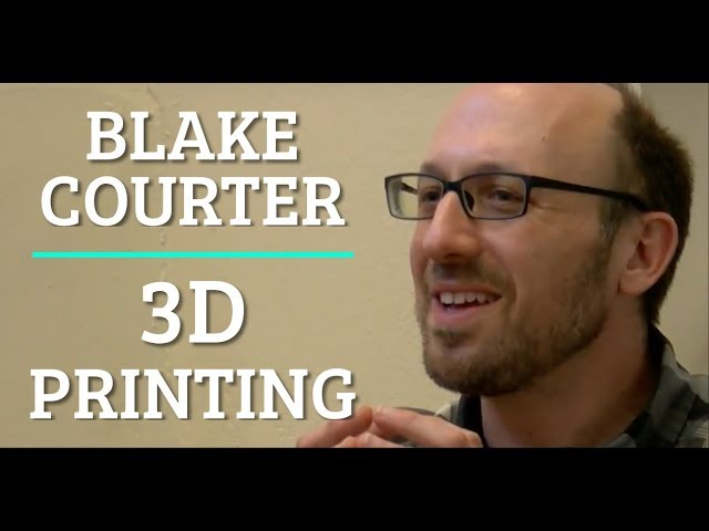 3D Printing - Blake Courter at COFES