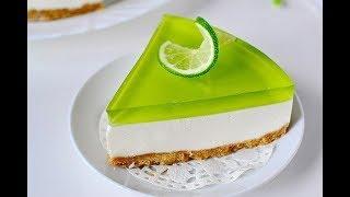 Желейный торт без выпечки.