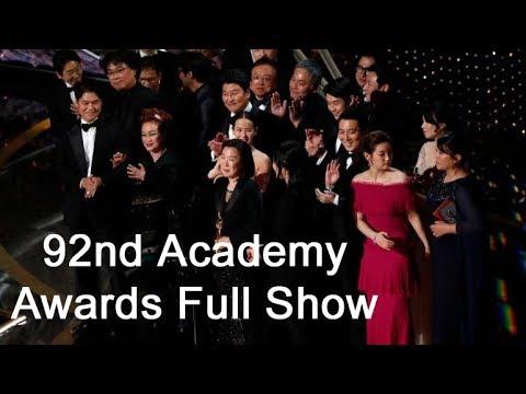 92nd Academy Awards Full  I Oscars Awards 2020  Full Event I