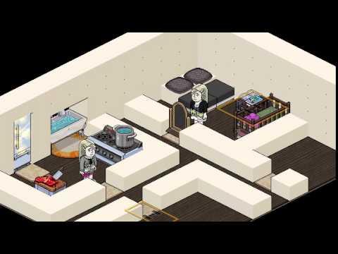Tutorial habbo como fazer uma casa simples youtube for Casa moderna habbo