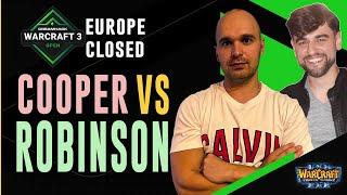 WC3 - DreamHack:Fall'21 - EU Closed Qualifier - LB R1: [ORC] Cooper vs. Robinson [NE]
