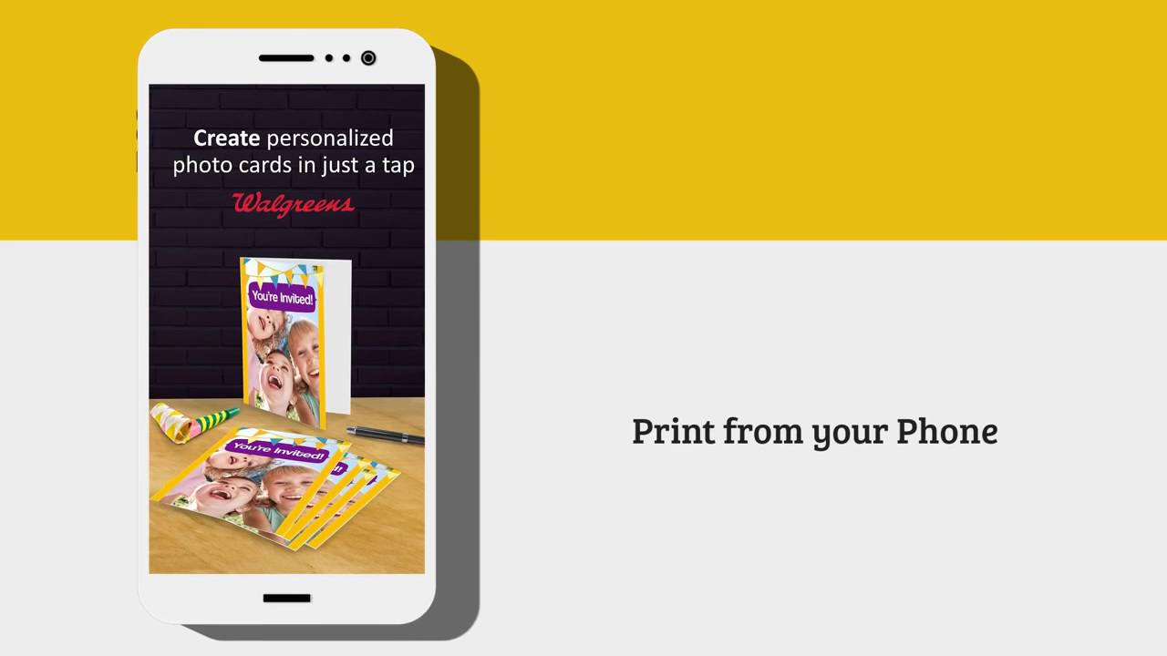 Make Greeting Cards Invitations From Your Phone