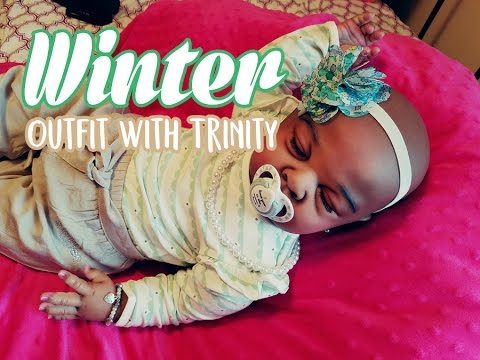 Winter Outfit Change with Trinity!