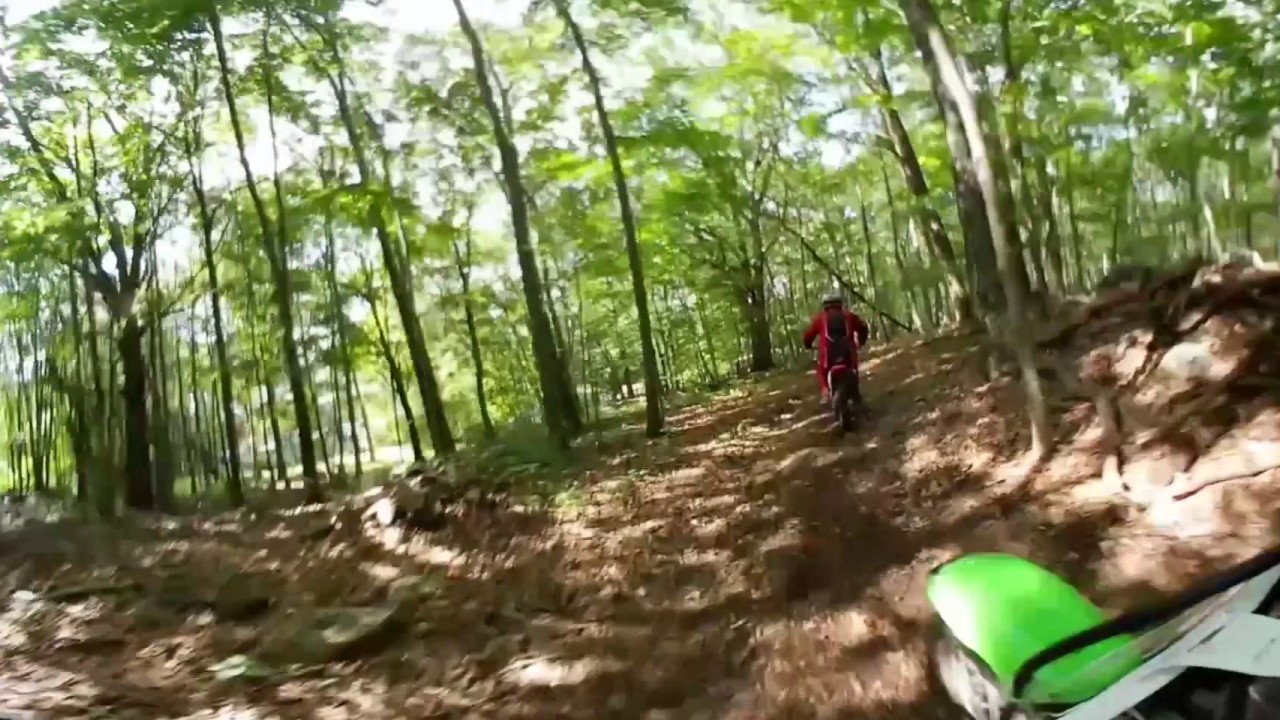 Trail Riding in Taftville, CT (360 video 4K)