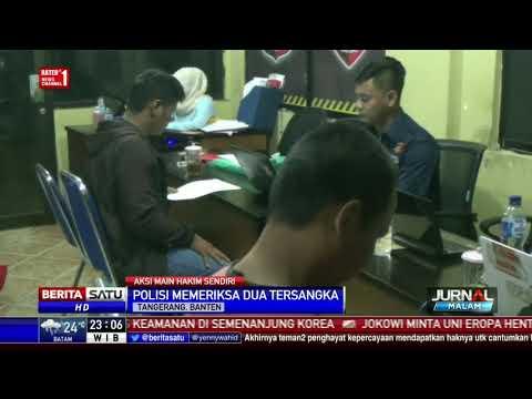 Polisi Periksa 2 Tersangka Kasus Persekusi di Cikupa