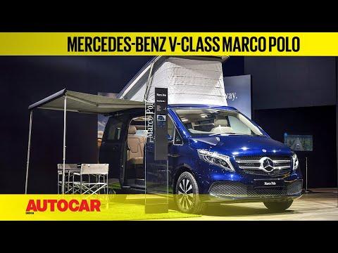 Auto Expo 2020 : Mercedes-Benz V-Class Marco Polo Walkaround   First Look   Autocar India