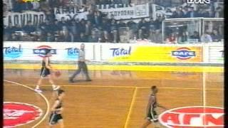 PAOK - STEFANEL 1994 - ITA - 1/2 (RARO!!!) (Walter Berry, Dejan Bodiroga)