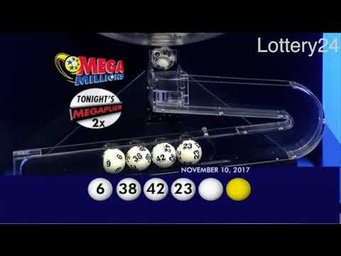 2017 11 10 Mega Millions Numbers and draw results