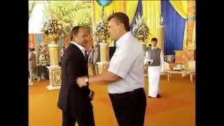 Видео с последнего дня рождения Януковича в статусе президента